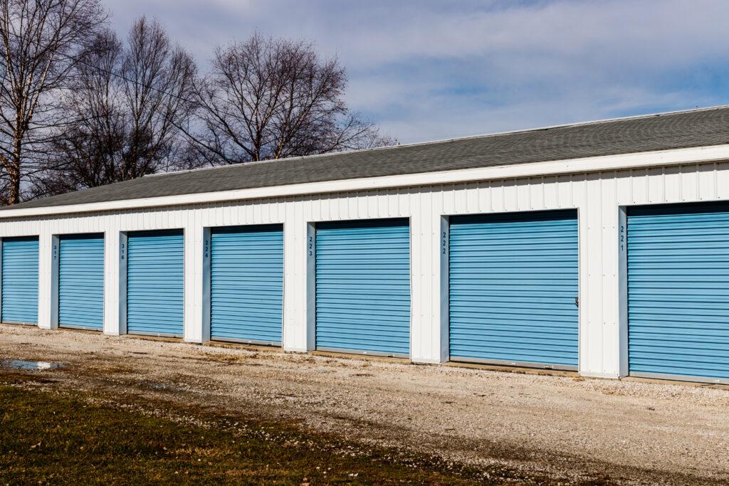 blue door mini storage