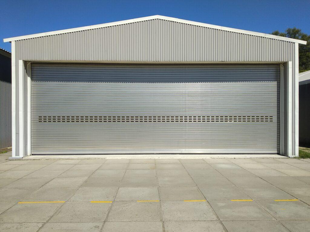 metal hangar
